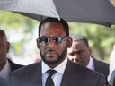 R. Kelly leaves the Leighton Criminal Courts Building following a hearing on June 26, 2019 in Chicago.