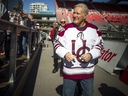 Jeopardy! host Alex Trebek made a special appearance at the start of the annual Panda Game between the uOttawa Gee-Gee's and Carleton Ravens at TD Place Saturday, Oct. 5, 2019.