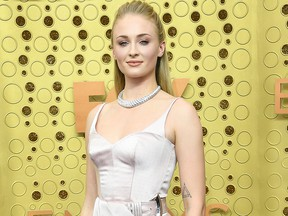 Sophie Turner attends the 71st Emmy Awards at Microsoft Theater on Sept. 22, 2019 in Los Angeles.
