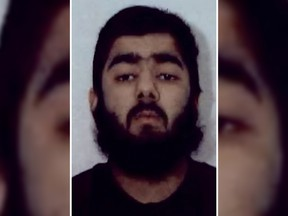 This undated file handout photo obtained from West Midlands Police on February 1, 2012 shows Islamist Usman Khan, then 20, who was jailed on February 9, 2012 with others after admitting to being involved with a group of fundamentalists who plotted a spate of mail bomb attacks during the run-up to Christmas in 2010. - A man, named by police as the-now-28-year-old Usman Khan, suspected of stabbing two people to death in a terror attack on London Bridge was a former prisoner convicted of terrorism offences and released in 2018, police said on November 29, 2019. Khan, wearing a suspected hoax explosive device, was shot dead by police after the daylight assault.