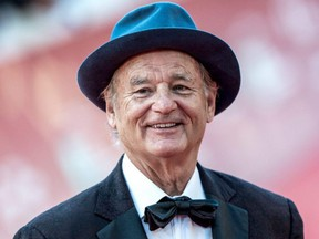Bill Murray walks the red carpet at the 14th Rome Film Festival in Rome, Italy, on Oct. 19, 2019.