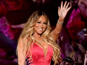 Mariah Carey performs onstage during the 2018 American Music Awards at Microsoft Theater on Oct. 9, 2018, in Los Angeles.