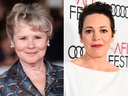 Reports have suggested that Imelda Staunton (L) will take over from Olivia Colman as Queen Elizabeth II in