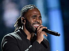 Jason Derulo performs onstage during the 2017 CMT Music Awards at the Music City Center on June 6, 2017 in Nashville, Tennessee.