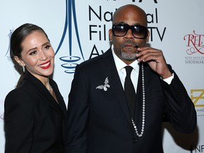 Raquel Horn and Damon Dash attend the National Film and Television Awards Ceremony at Globe Theatre on Dec. 05, 2018 in Los Angeles.