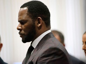 R. Kelly appears for a hearing at Leighton Criminal Court Building in Chicago, on June 26, 2019.