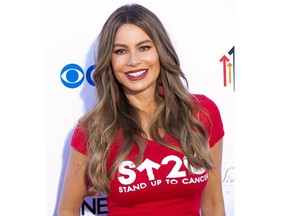 Sofia Vergara attends Stand Up To Cancer at  The Barker Hangar in Santa Monica, California, United States on Sept. 7, 2018.