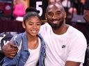 Kobe Bryant is pictured with his daughter Gianna at the WNBA All Star Game at Mandalay Bay Events Center in Las Vegas, Nevada, July 27, 2019. (Stephen R. Sylvanie-USA TODAY Sports/File Photo)