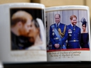 Royal memorabilia is displayed for sale in a store near Buckingham Palace in London on Jan. 10, 2020. (DANIEL LEAL-OLIVAS/AFP via Getty Images)