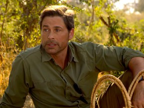 """Rob Lowe in """"Holiday in the Wild."""""""