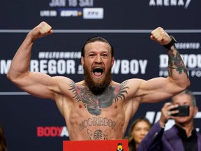 Conor McGregor v Donald Cerrone Weigh-In - Pearl Theater, Palms Resort Casino, Las Vegas, United States - January 17, 2020.
