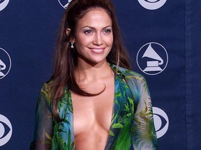 This dress Jennifer Lopez wore to the 2000 Grammys and a twin are hot right now.