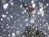 Snow falls during a storm at the Iwo Jima Memorial site in Arlington, Virginia, U.S., January 7, 2020. REUTERS/Tom Brenner ORG XMIT: WAS612