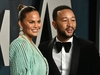 BEVERLY HILLS, CALIFORNIA - FEBRUARY 09: Chrissy Teigen and John Legend attend the 2020 Vanity Fair Oscar Party hosted by Radhika Jones at Wallis Annenberg Center for the Performing Arts on February 09, 2020 in Beverly Hills, California. (Photo by Frazer Harrison/Getty Images)