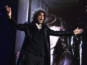 Howard Stern speaks during the 33rd Annual Rock & Roll Hall of Fame Induction Ceremony at Public Auditorium on April 14, 2018 in Cleveland, Ohio.