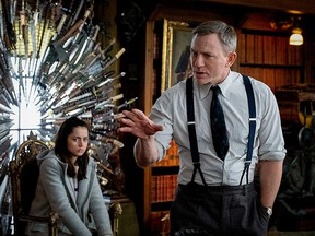 """Daniel Craig and Ana de Armas in """"Knives Out."""""""
