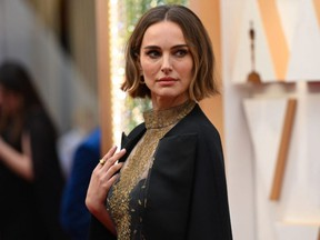 Natalie Portman arrives for the 92nd Academy Awards at the Dolby Theatre in Hollywood, Calif., on Sunday, Feb. 9, 2020. AFP via Getty Images