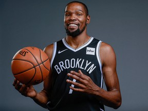 Brooklyn Nets forward Kevin Durant.