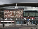 A general view of the Emirates Stadium, home to Arsenal Football Club on Friday, March 13, 2020 in London, England.
