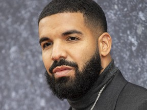 """Drake attends the """"Top Boy"""" U.K. premiere at Hackney Picturehouse on Sept. 4, 2019 in London."""
