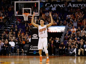 Devin Booker of the Phoenix Suns.