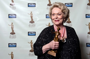 APRIL 5: Canadian activist and veteran actress Shirley Douglas, who was mother to actor Kiefer Sutherland and daughter of medicare founder Tommy Douglas, died from complications surrounding pneumonia. She was 86.