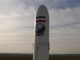 A first military satellite named Noor is seen to be launched into orbit by Iran's Revolutionary Guards Corps, in Semnan, Iran April 22, 2020.