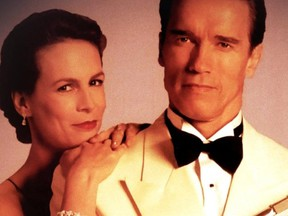 Jamie Lee Curtis and Arnold Schwarzenegger co-starred in True Lies.