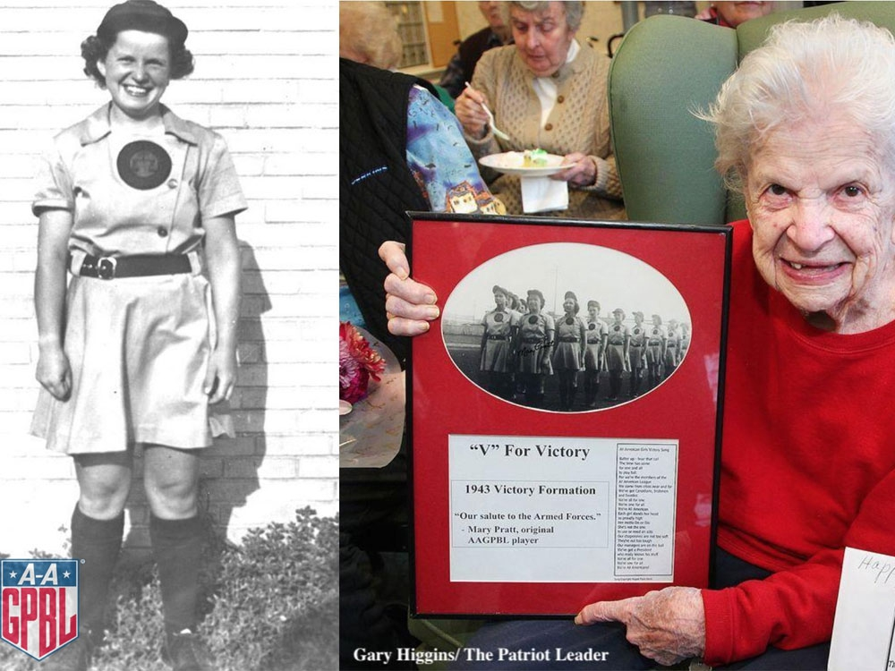 Mary Pratt, pitcher who helped inspire A League of Their Own movie, dead at 101