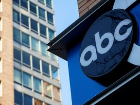 The ABC building in New York December 11, 2013.