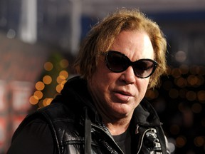 Actor Mickey Rourke attends UFC on Fox:  Live Heavyweight Championship at the Honda Center on November 12, 2011 in Anaheim, California.