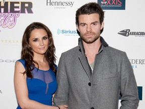 Rachael Leigh Cook and Daniel Gillies attend the Tenth Annual Leather & Laces Super Bowl Party on February 2, 2013 in New Orleans, Louisiana.
