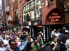 LIVERPOOL, ENGLAND - JULY 26:  Fans of Paul McCartney make their way inside The Cavern Club, as the singer plays a one off gig at the legendary venue on July 26, 2018 in Liverpool, England. (Photo by Richard Martin-Roberts/Getty Images)