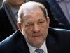 (FILES) In this file photo taken on February 24, 2020 Harvey Weinstein arrives at the Manhattan Criminal Court in New York City. - A US federal judge in New York on July 14, 2020 rejected a proposed civil settlement that would have created a nearly $19 million fund for dozens of women who suffered sexual misconduct and harassment at the hands of Harvey Weinstein. (Photo by Johannes EISELE / AFP) (Photo by JOHANNES EISELE/AFP via Getty Images)
