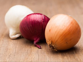 Onions are shown in this undated file photo.