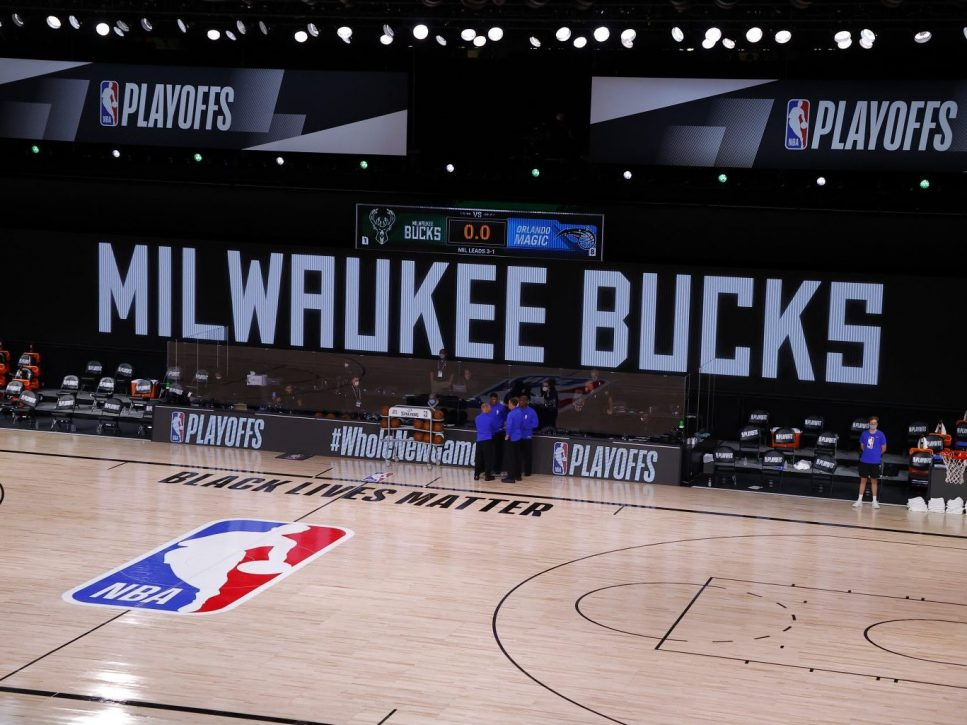 NBA postpones playoff games after Bucks boycott to protest racial injustice