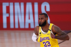 LeBron James and the Los Angeles Lakers will play the Miami Heat in the NBA Finals.