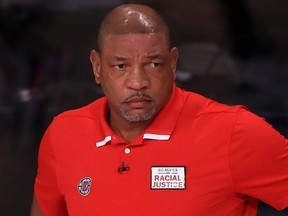 Doc Rivers and Clippers owner Steve Ballmer mutually agreed that Rivers would step down as head coach after seven seasons on Monday, Sept. 28, 2020.