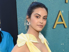 "Actress Camila Mendes arrives for the premiere of ""The Sun Is Also A Star"" world premiere at Pacific Theaters at The Grove in Los Angeles, Calif., on May 13, 2019."
