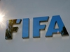 FILE PHOTO: The logo of FIFA is seen in front of its headquarters in Zurich, Switzerland September 26, 2017.   REUTERS/Arnd Wiegmann/File Photo ORG XMIT: FW1