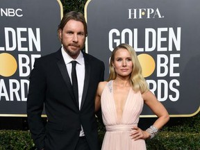 Dax Shepard and Kristen Bell attend the 76th Annual Golden Globe Awards at The Beverly Hilton Hotel on January 6, 2019 in Beverly Hills, California.