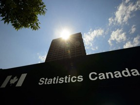 Statistics Canada building and signs are pictured in Ottawa, July 3, 2019.
