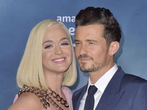 """LA Premiere Of Amazon's """"Carnival Row""""  Featuring: Katy Perry, Orlando Bloom Where: Hollywood, California, United States When: 21 Aug 2019."""