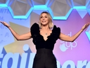 Host Julianne Hough speaks onstage at the 2nd Annual Girl Up #GirlHero Awards at the Beverly Wilshire Four Seasons Hotel in Beverly Hills, Calif., Oct. 13, 2019.