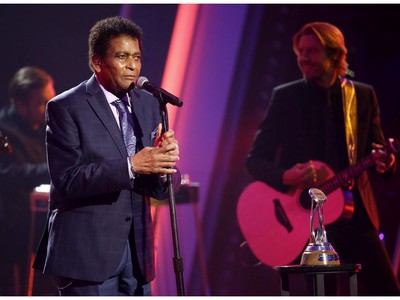 Charley Pride performs onstage during the The 54th Annual CMA Awards at Nashville's Music City Center on Wednesday, Nov. 11, 2020 in Nashville, Tennessee.