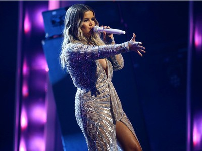 Maren Morris performs onstage during the The 54th Annual CMA Awards at Nashville's Music City Center on Wednesday, Nov. 11, 2020 in Nashville, Tennessee.