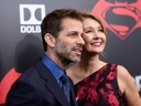 Director Zack Snyder (L) and producer Deborah Snyder attend the