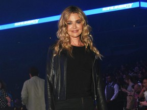 Denise Richards attends the Vfiles front row during New York Fashion Week: The Shows at Barclays Center in New York City, Sept. 5, 2019.
