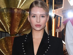 Lottie Moss attends the Charlotte Tilbury premiere at Space NK on Sept. 9, 2019 in London.