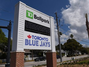 The Blue Jays could be playing some of their regular-season games in Dunedin this spring.